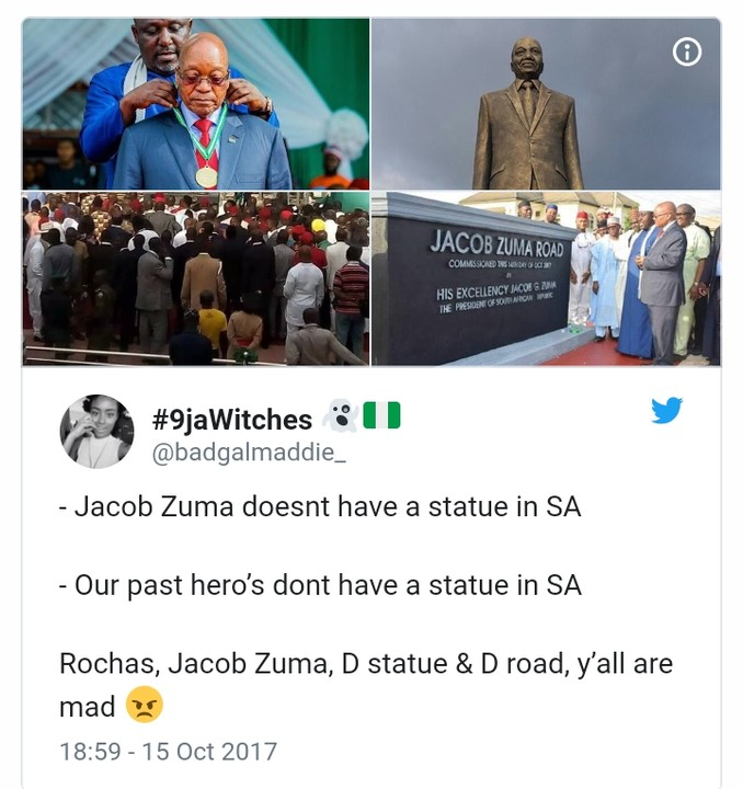 We owe no apology to anyone on Zuma's statue - Okorocha