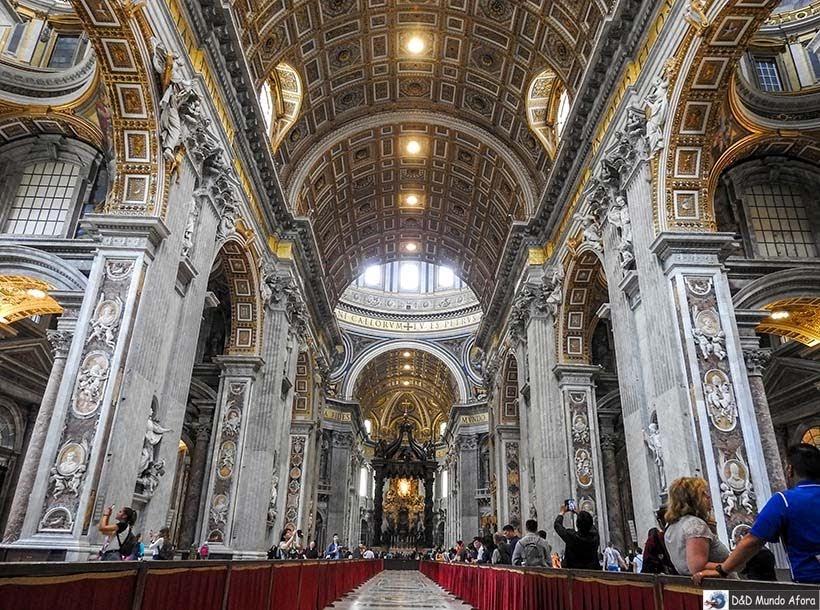 Basílica de São Pedro - O que fazer no Vaticano