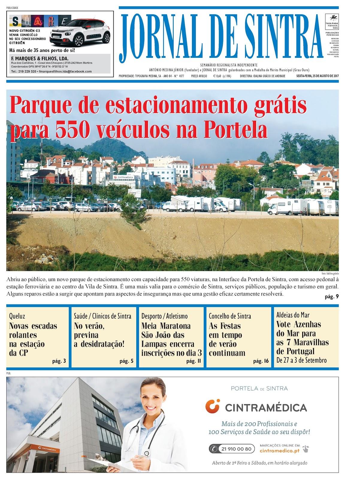 Capa da edição de 25-08-2017