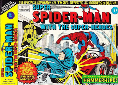 Super Spider-Man with the Super-Heroes #179, Hammerhead