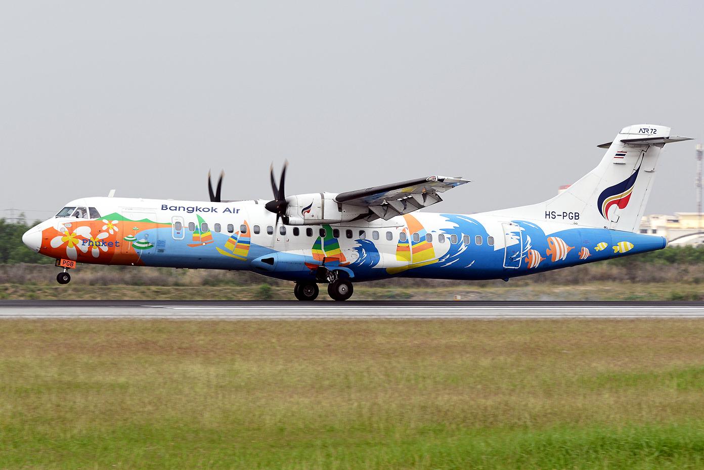 ATR-72 of Bangkok Airways Special Livery