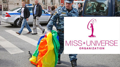 Petition to change the venue of Miss Universe 2013 from Russia