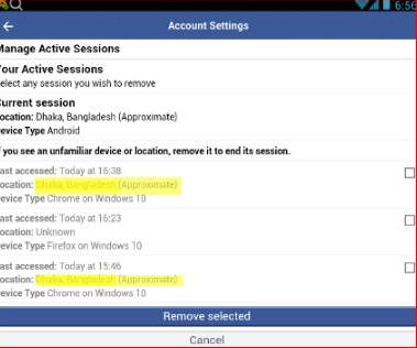 Logout Of All Devices Facebook Mobile