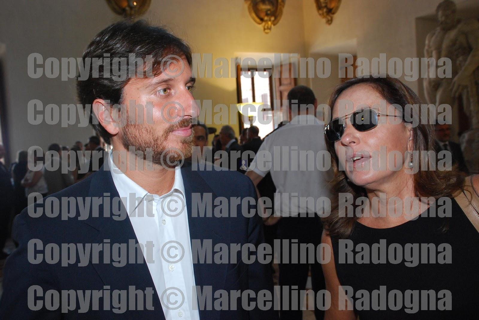 Marcellino Radogna Fotonotizie Per La Stampa Barbara Palombelli Con Il Figlio Giorgio Rutelli