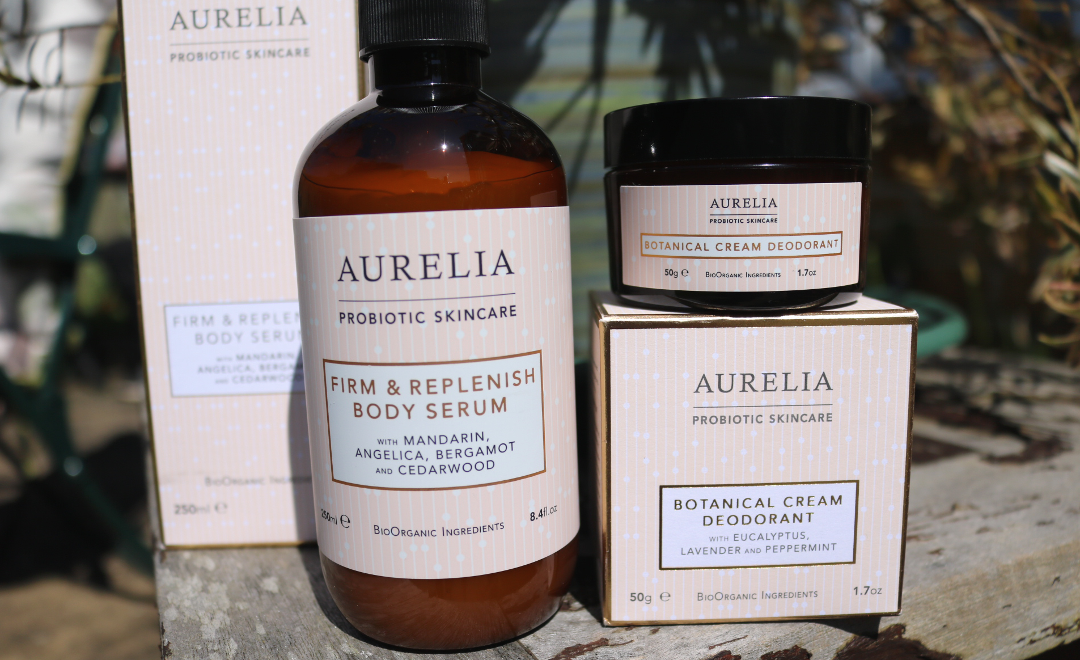 Aurelia Probiotic Skincare Firm & Replenish Body Serum & Botanical Cream Deodorant review
