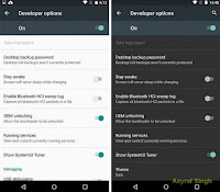 dark theme is gone at android 'M' Marshmallow