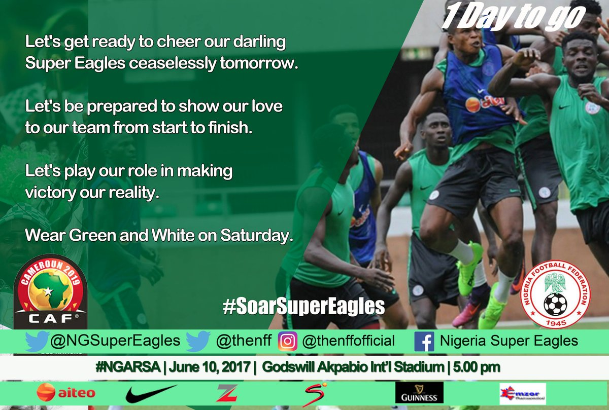 What Eagles Must do to Beat South Africa