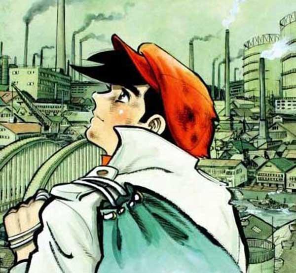 "Review manga Ashita no joe ""Tommorow's Joe"" Indonesia"