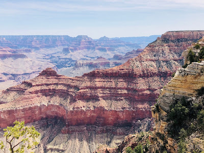 View of Yaki Point from the Grand Canyon South Rim Trail.