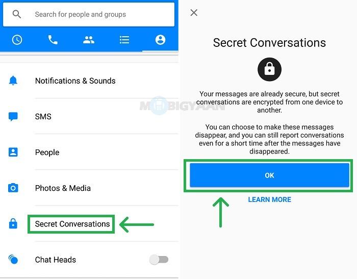 How to Encrypt Facebook Messenger with Secret Conversations