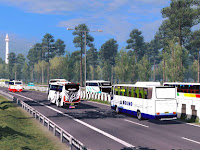 Mod Traffic Ngeblong Pantura v.2.1 Euro Truck Simulator 2