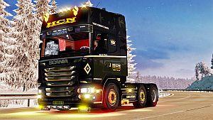 Scania R HCN Transport truck