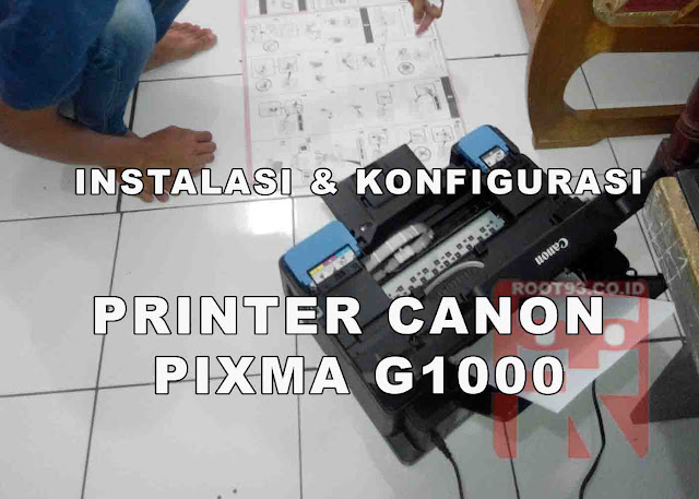 instala printer canon g1000