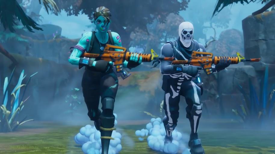 Fortnite Battle Royale Ghoul Trooper Skull Trooper 4k Wallpaper 24