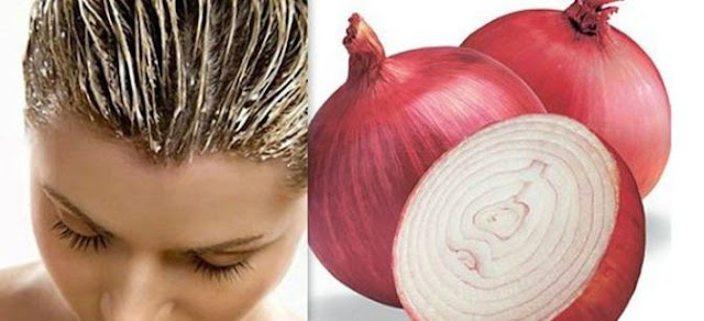 hair growth with red onion