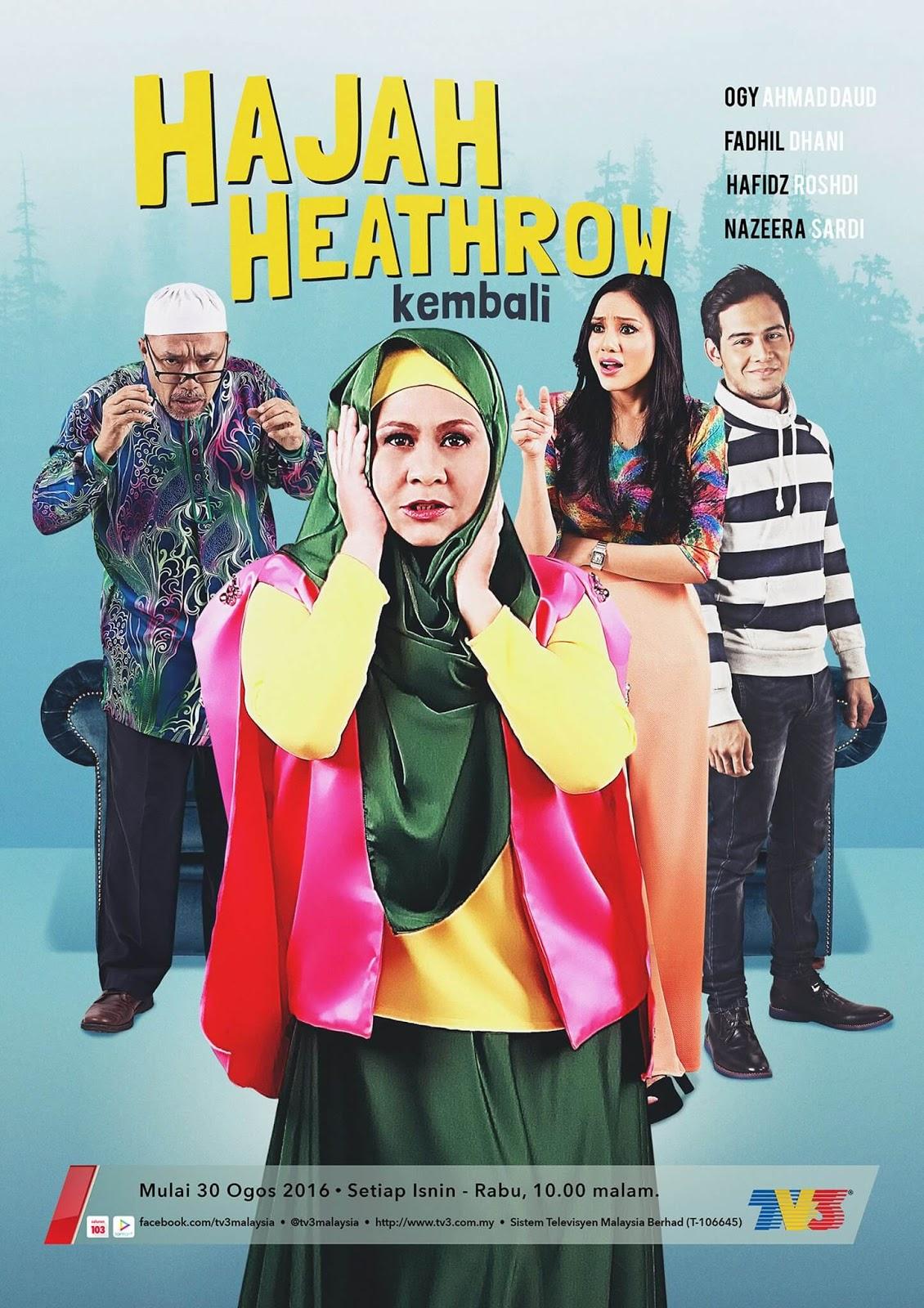 Drama Hajah Heathrow Kembali (TV3)