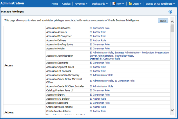 INSTALLATION DOCUMENTS BY RAVI: Administration link is missing obiee ...