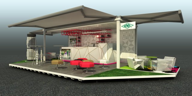 Container Cafe Design3d-Desain cafe container