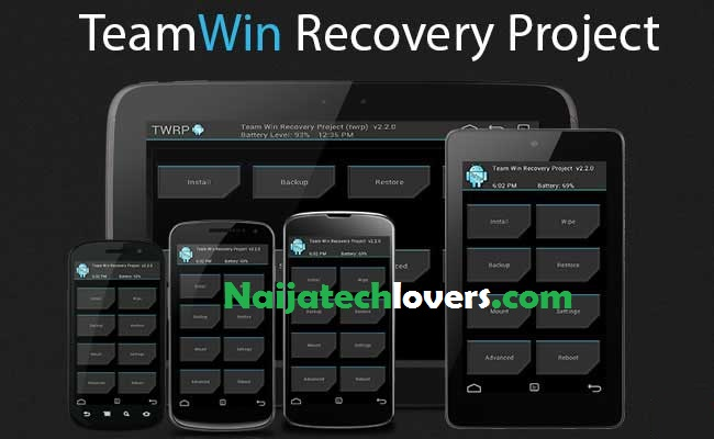 TWRP 3 0 2 Custom Recovery for Infnix X551 ~ Technology