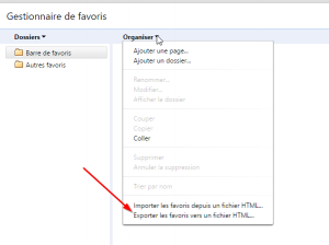 كيفية حفظ أو تصدير Chrome Favorites