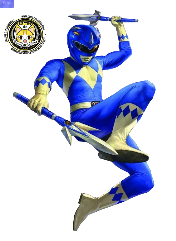 render Blue Ranger