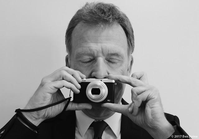 François de Brigode - Yeux Fermés - Portrait par Ben Heine 2017
