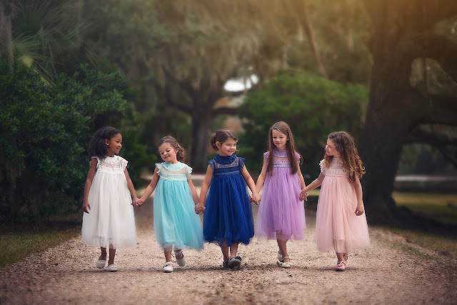 Gorgeous Spring Dresses for Your Baby Girl