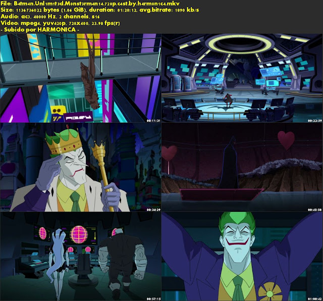Descargar Batman Unlimited: Monstermania Castellano por MEGA.
