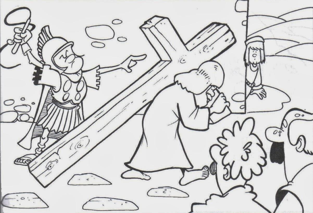 Dibujos De Semana Santa Para Colorear Dibujos Para Niños