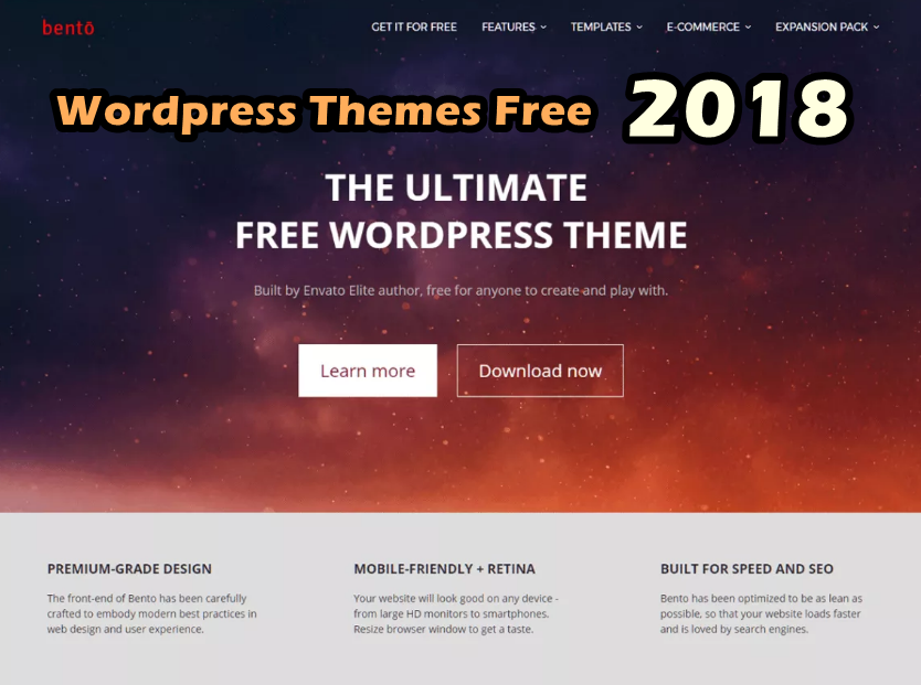 Best WordPress Themes Free 2018   Get any Template