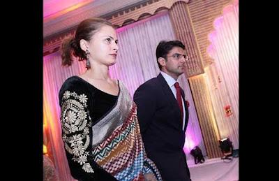 Sachin Pilot dan Sara Abdullah