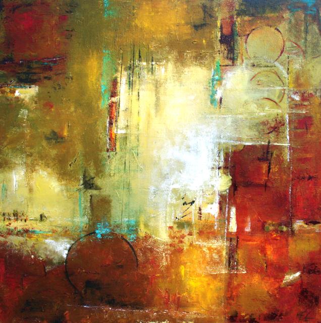 Rain Happy Peinture Contemporaine Tableau Moderne
