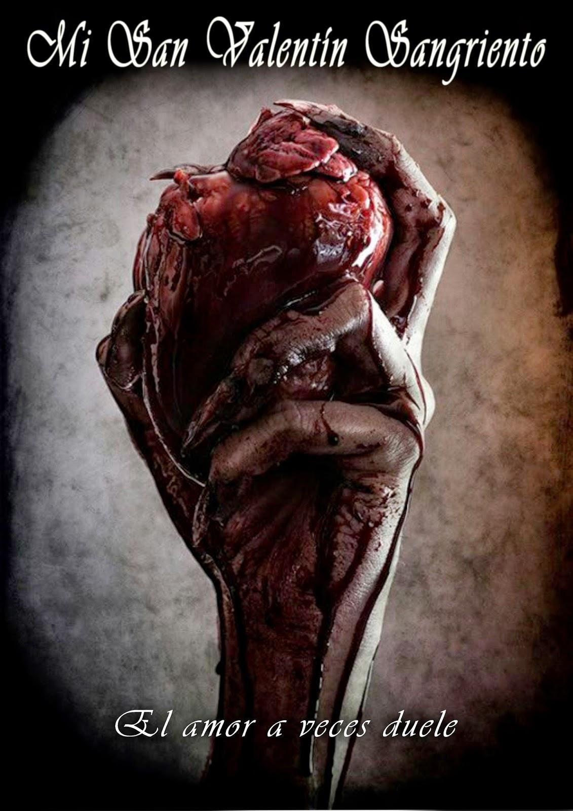 """""""Reseña de la antología Mi Valentín Sangriento del lado oscuro"""""""
