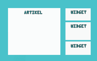 Cara Menambahkan Sidebar Widget Pada Blog AMP