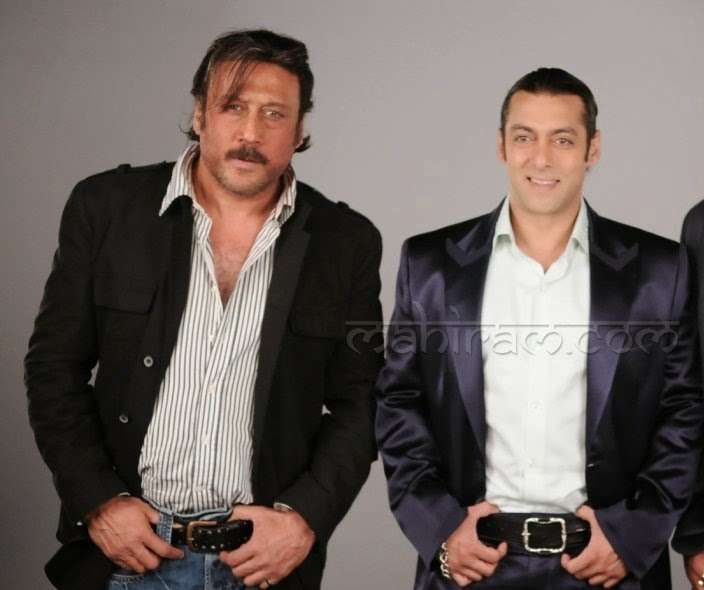 Jackie Shroff and Salman Khan