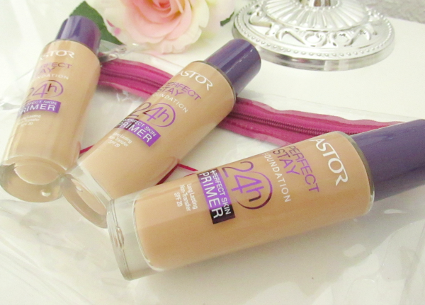 Astor Perfect Stay Foundation 24h +Perfect Skin Primer Review