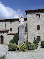 The statue of  Saint Veronica in the village of Mercatello sul Matauro
