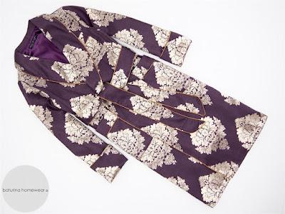men's long paisley silk dressing gown full length victorian brocade smoking jacket robe man