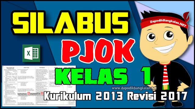 Silabus PJOK Kelas 1 Kurikulum 2013 Revisi 2017