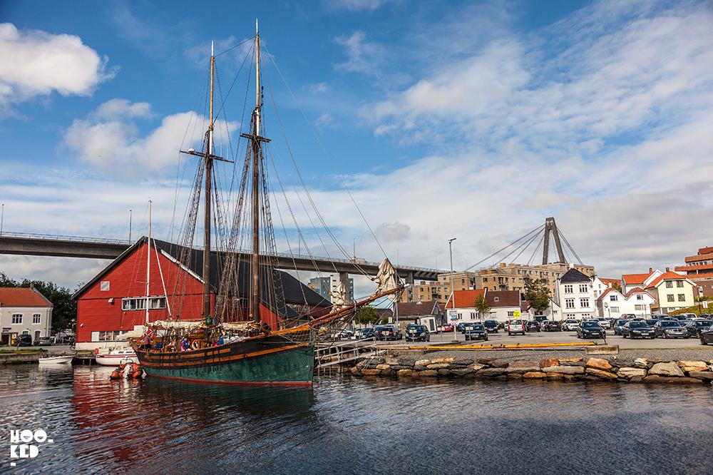 Tall ship in Stavanger, Norway. Photo ©Mark Rigney / Hookedblog