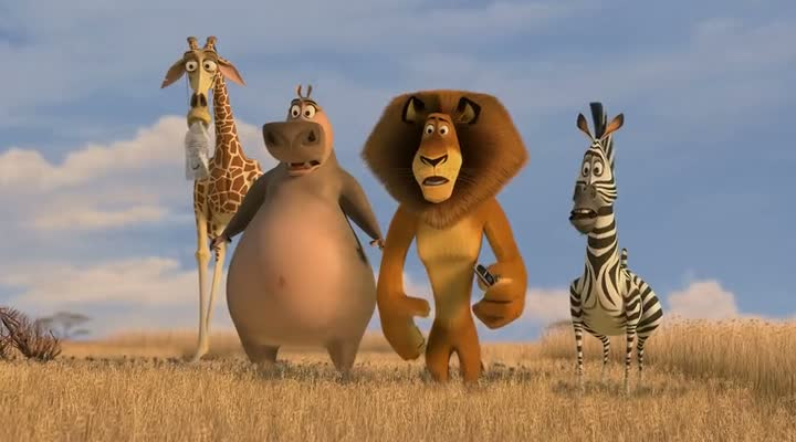 Free Download Madagascar Duology Hollywood Movie 300MB Compressed For PC
