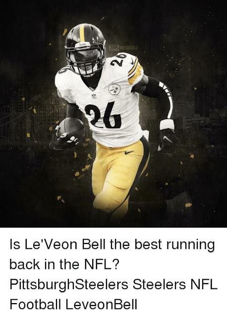 Is le'veon bell the best running back in the nfl? pittsburghsteelers steelers nfl football leveonbell