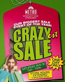 Manila Shopper Metro Stores  Supermarket OneDay Crazy