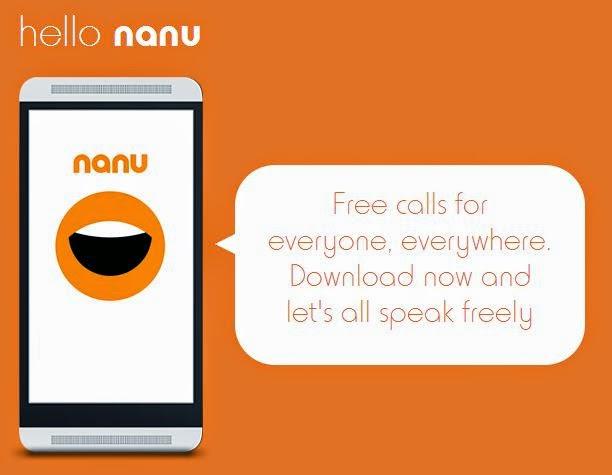 Nanu Free Call Android App