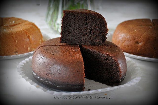 Steamed Chocolate Cake Rice Cooker
