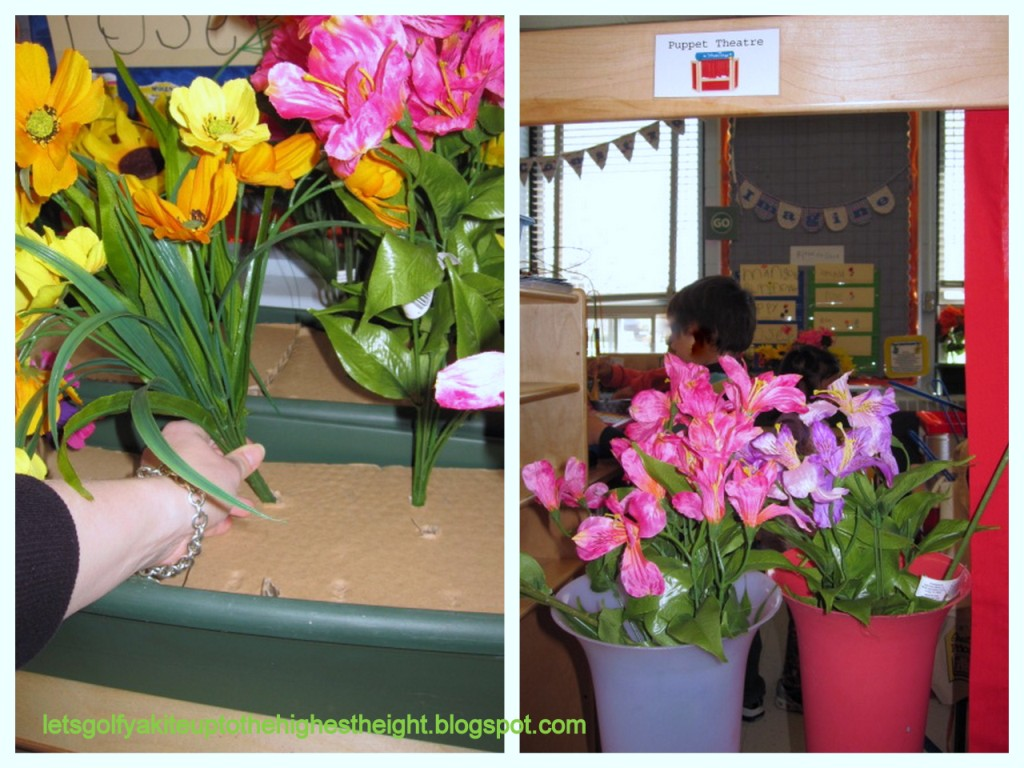 let's go fly a kite: Dramatic Play: Flower Shop