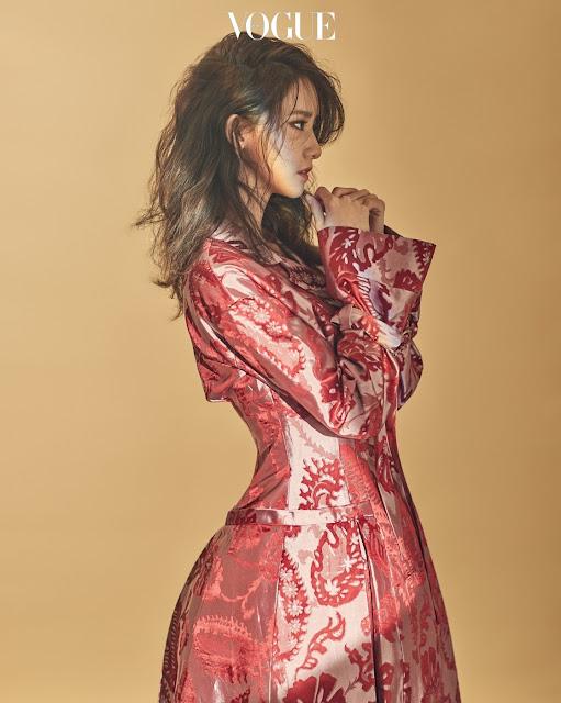 YoonA 윤아 Vogue Pics 2