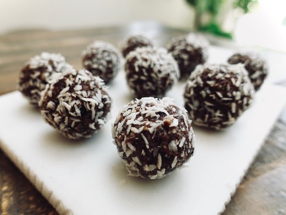 vegan gluten-free power balls  recipe