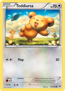 Teddiursa BREAKthrough Pokemon Card