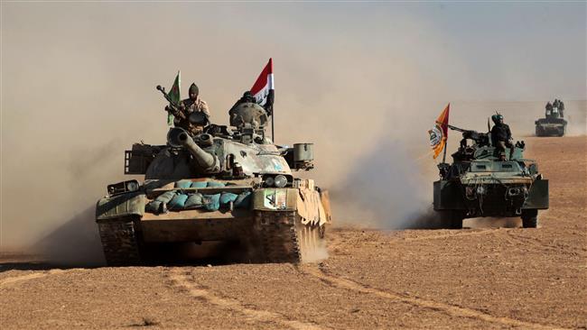 O premiê iraquiano, Haider al-Abadi, cujo país está envolvido na guerra com Estado Islâmico, diz que o grupo terrorista está vendo seu colapso